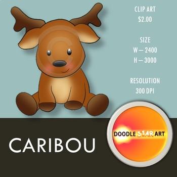 Caribou Clip Art