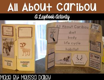 Caribou Lapbook + Reindeer Food Activity