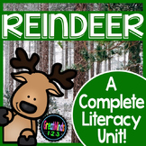 Reindeer Literacy Unit {Caribou Non-Fiction Common Core Aligned Unit}