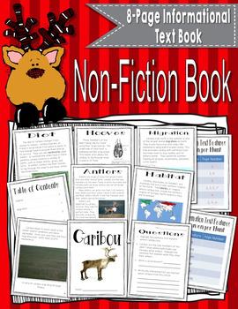 Reindeer Literacy Unit {Caribou Non-Fiction Common Core Aligned Unit}