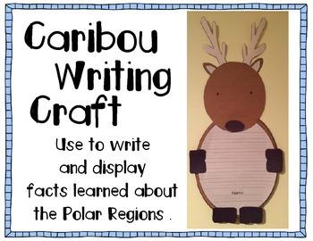Caribou/Reindeer Writing Craft