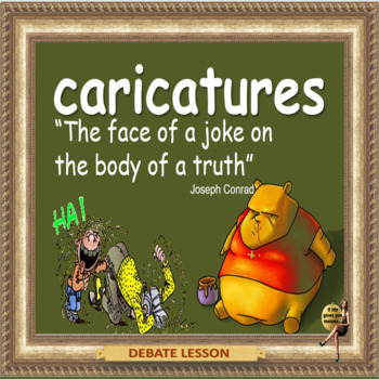 Caricatures – The  right to express an opinion