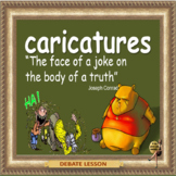 Caricatures – The  right to express an opinion ESL, EFL, ELL adult conversation