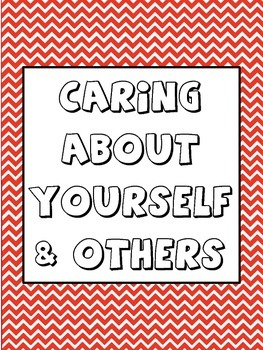 Caring About Yourself and Others Counseling Lesson Plan