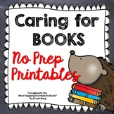 Caring For Books!
