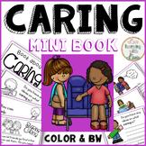 Caring Reader Mini Book Character Education