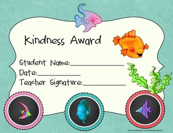 Caring and Kindness Awards