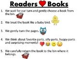 Caring for Books Anchor Chart