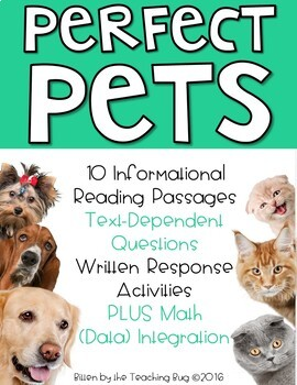 Perfect Pets Activities