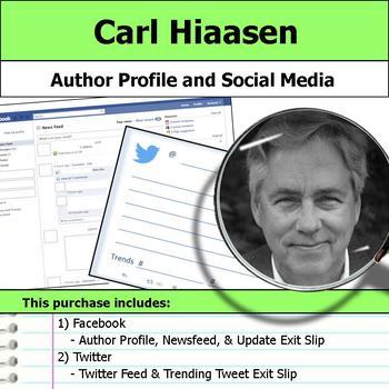 Carl Hiaasen - Author Study - Profile and Social Media