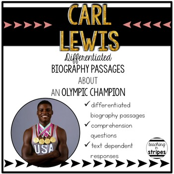 Carl Lewis: Differentiated Biography Passages & Reading Co