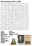 Carl Linnaeus Word Search