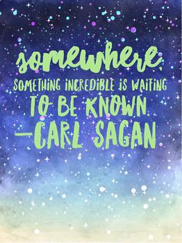 Carl Sagan Quote Picture