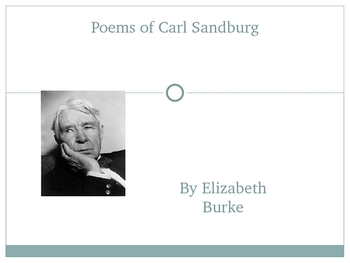 Carl Sandburg-His Works