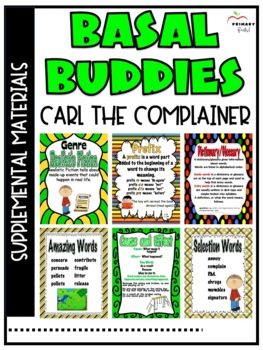 Carl the Complainer -Reading Street (2013) 2nd Grade Unit 5 Week 2
