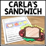 Carla's Sandwich | Book Response | Craft and Writing Prompt