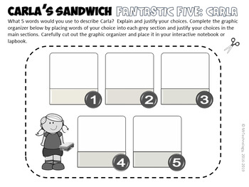 Carla's Sandwich Reading Lessons & Interactive Activities Bundle {CCSS Aligned}