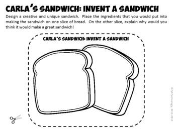 Carla's Sandwich Reading Lessons & Interactive Activities Bundle {CCSS Aligned}