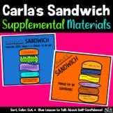 Carla's Sandwich- Supplemental Materials (Self-Confidence & Positive Self-Talk)