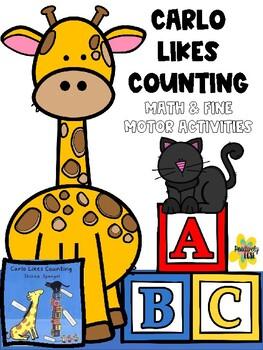 Carlo Likes Counting- Math & Fine Motor Story Companion