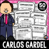 Carlos Gardel Composer Listening Activities, December, Argentina, Classical