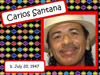 Carlos Santana: Musician in the Spotlight