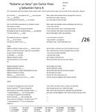 """Carlos Vives y Sebastian Yatra -- """"Robarte un beso"""" lyrics and quizzes"""