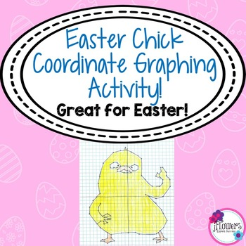 Easter Chick Coordinate Plane! Great for Easter!