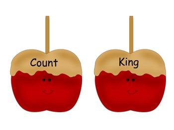 Carmel Apple Artic: /k/