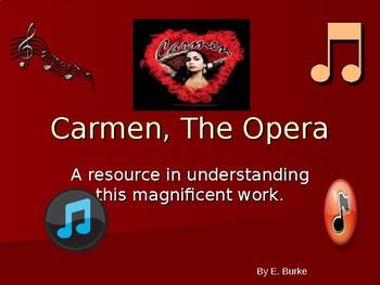 Carmen, An Opera Resource