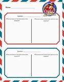 Carmen Sandiego Worksheet