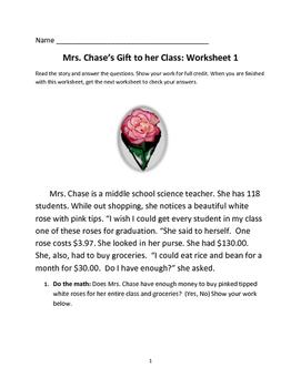 Carnations for Graduation Emergency Sub Plans