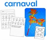 Carnaval-Mardi Gras bilingual in spanish and english