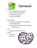 Carnaval / Mardi Gras mini info