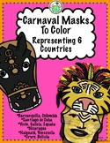 Carnaval Masks & More Featuring 6 Spanish Speaking Countries