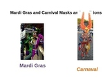 """Carnaval"" and ""Vejigante de Puerto Rico"" PowerPoint for Spanish and ELD"