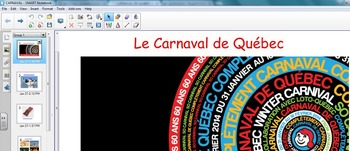 Carnaval de Québec Notebook file