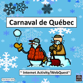 Carnaval de Québec - Internet Activity