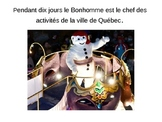 Carnaval de Quebec Powerpoint