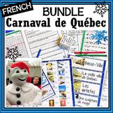 French Canada Carnaval de Québec/Winter Carnival BUNDLE-la