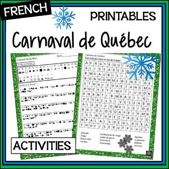 Carnaval de Québec – Québec Winter Carnival activities