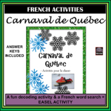 Carnaval de Québec – Québec Winter Carnival activities