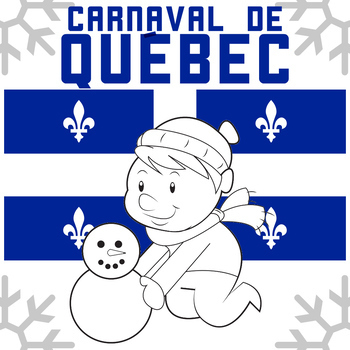 Carnaval de Quebec Winter Carnival - English, No Prep with Answer Key