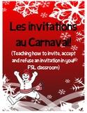 Carnaval de Québec - les invitations