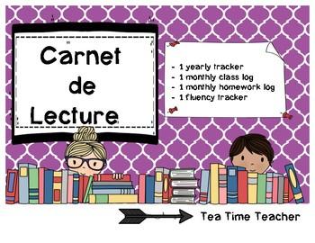 Carnet de Lecture - Reading Log
