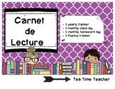 * FREE * Carnet de Lecture - Reading Log