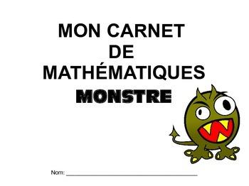 Carnet de mathématiques monstre