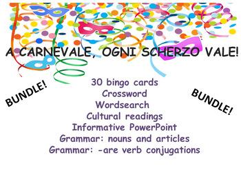 Carnevale In Italia!  Carnevale in Italy bundle