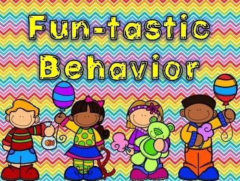 Carninval Theme Behavior Clip Chart