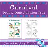 Carnival 2-Digit Addition Task